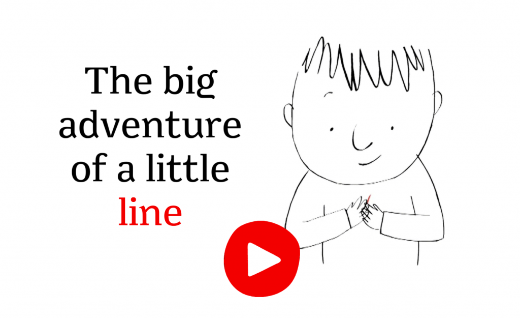 The big adventure of a little line - A story to draw